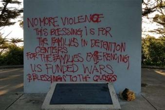 Armenian Genocide Memorial Cross vandalized in San Francisco
