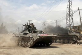 Syrian army captures one more town in country's southwest
