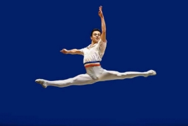 Armenian ballet dancer wins key prize at Baltic Int'l Competition
