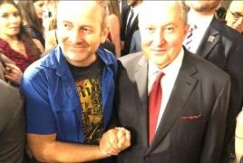 Բլոգեր Լապշինը Վաշինգտոնում ծանոթացել է ՀՀ նախագահի հետ