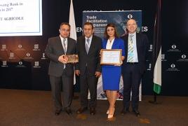 ՎԶԵԲ-ը մրցանակ է շնորհել ԱԿԲԱ-ԿՐԵԴԻՏ ԱԳՐԻԿՈԼ բանկին