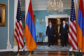 Armenia President, U.S. State Secretary discuss relations in DC