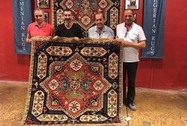 Հայաստանում Սերժ Թանկյանին գորգ են նվիրել