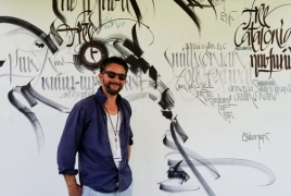 Armenian caligraphy takes center stage at Smithsonian Folklife Festival