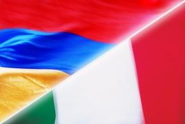 Italian President to visit Armenian Genocide memorial in Yerevan