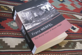 Armenian Genocide book in American writer's summer read list