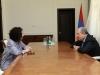 Президент Армении и актриса Арсине Ханджян обсудили отношения РА и диаспоры