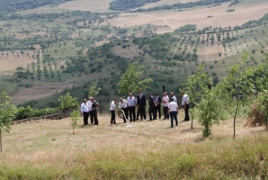 A new irrigation system improves lives in Armenia's Dovegh community