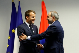 Пашинян и Макрон обсудили в Брюсселе карабахское урегулирование