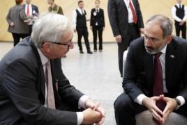 Председатель Еврокомиссии: Мирный и демократический характер событий в Армении вдохновил ЕС