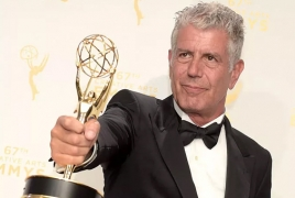 Anthony Bourdain nominated for Emmys for