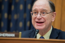 Rep. Sherman continues pressure to secure new U.S.-Armenia tax treaty