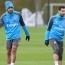 Arsenal stars going through shooting drills: Mkhitaryan on target