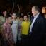 Armenian President hosts astronomy night with children