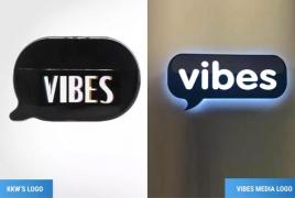 Kim Kardashian sued for allegedly stealing Vibes logo