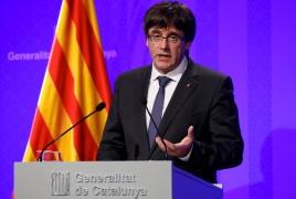Испания отозвала ордер на арест Пучдемона