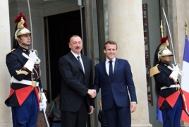 French, Azerbaijani Presidents discuss Karabakh in Paris