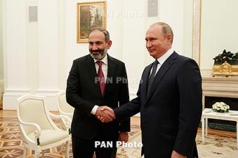 Փաշինյանն ու Պուտինը հեռախոսազրույցում հարցեր են քննարկել են հայ-ռուսական օրակարգից