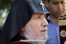 Armenia Catholicos, President express condolences over Greece fire