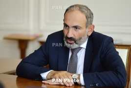 Armenia PM 'would be glad' if Azeri President too sent his son to army