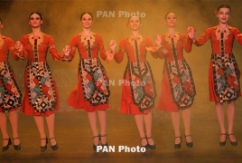 Armenian folk dance main feature at international festival in Scotland