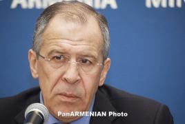 Лавров: События в Армении идут вразрез с заявлениями властей страны