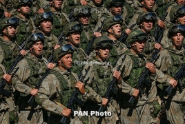 Armenian, Russian troops holding joint drills
