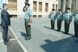 Structural changes coming to Armenia's border guard service