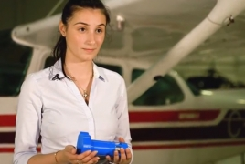 Syrian-Armenian refugee invents renewable energy device for aircraft