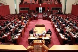 Senator blasts Australia's failure to recognize Armenian Genocide