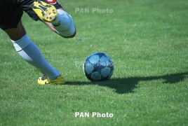 Armenia hold on to 100th position in latest FIFA ranking