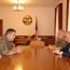 Artsakh President, Armenia Chief of General Staff meet in Stepanakert