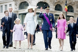 Belgium royal family arrives in Armenia for private visit