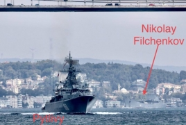 Russia sends 3 naval ships to Syria as Idlib offensive nears