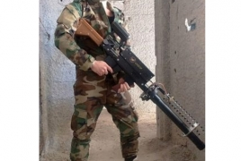 Syrian army displays rare weapon for Idlib offensive