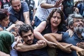 Turkey police attempted to detain Armenian MP during Istanbul rally