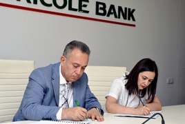 ACBA-CREDIT AGRICOLE Bank to spend $17 mln on financing SMEs
