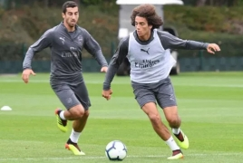 Henrikh Mkhitaryan praises new Arsenal signing Matteo Guendouzi