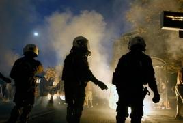 Գերմանիայի արևելքում բողոքի ցույցի ժամանակ 6 մարդ է վիրավորվել