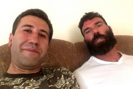 Dan Bilzerian visits Artsakh