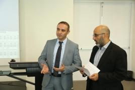 CIS journalists, Softline representatives visit Ameriabank