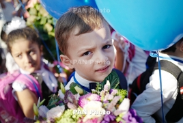 Armenian president to host children on Knowledge Day