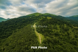 Land Rover supporting development of major hiking trail in Armenia