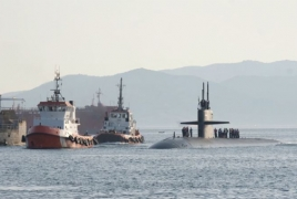 US submarine with cruise missiles allegedly enters Mediterranean