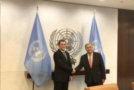 Armenia has new Permanent Representative in UN