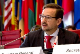 OSCE chief due in Armenia for high-level meetings