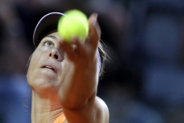 Шарапова вылетела с US Open