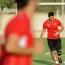 Мхитарян принял участие в тренировке сборной Армении перед матчем с командой Лихтенштейна