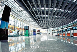 Zvartnots airport served record number of passengers in August