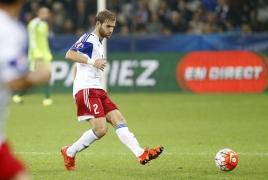 Armenian defender Gael Andonian on trial at Sunderland